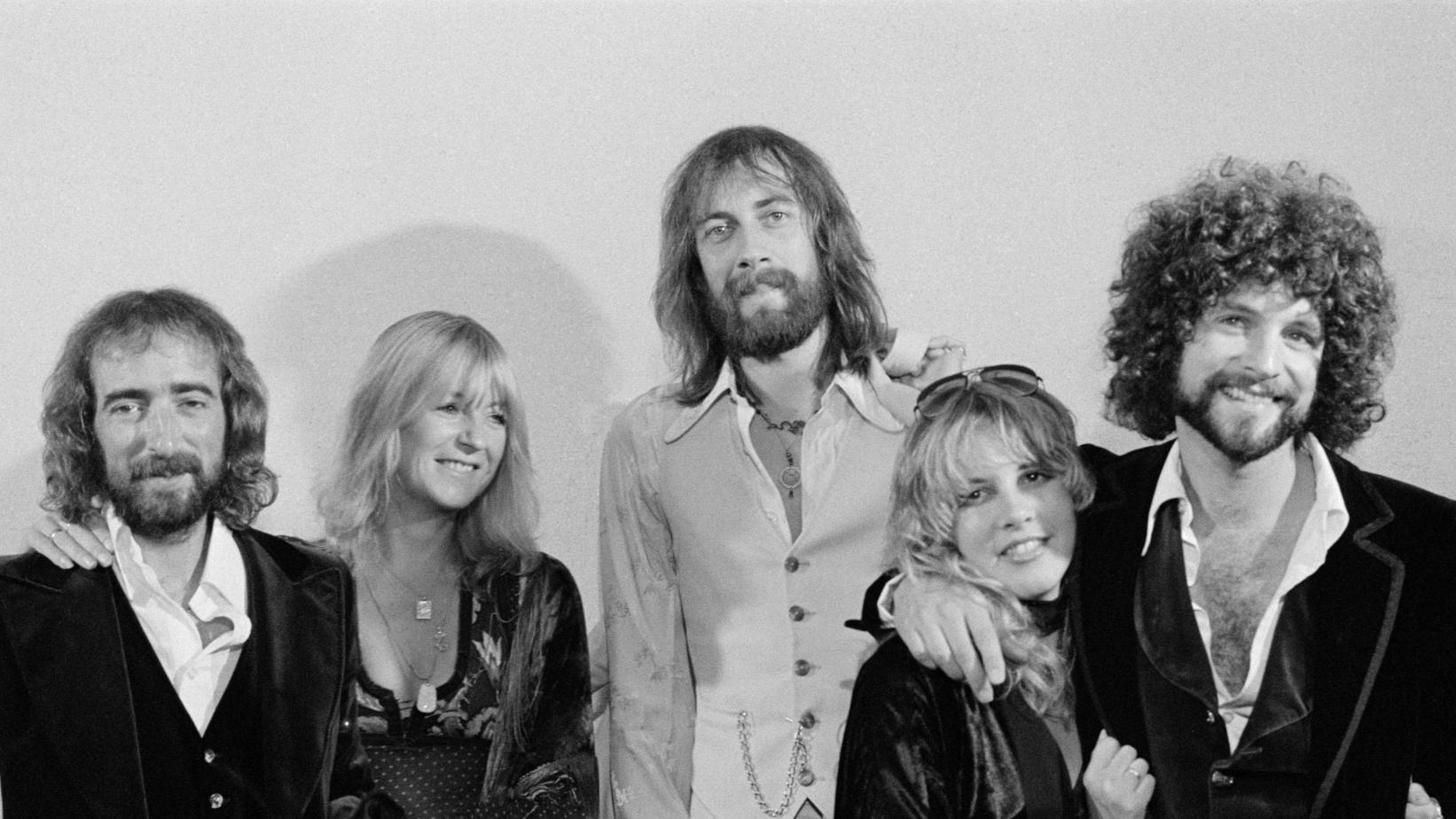 Fleetwood Mac photographed in 1976