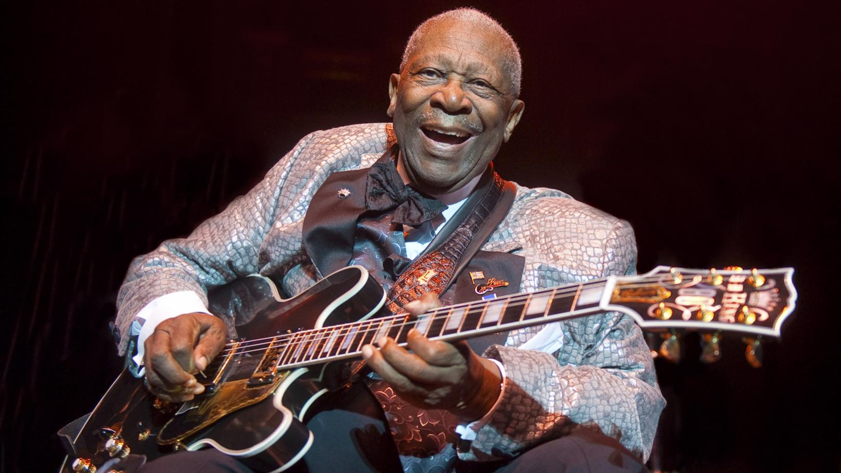 B.B. King performs in 2011