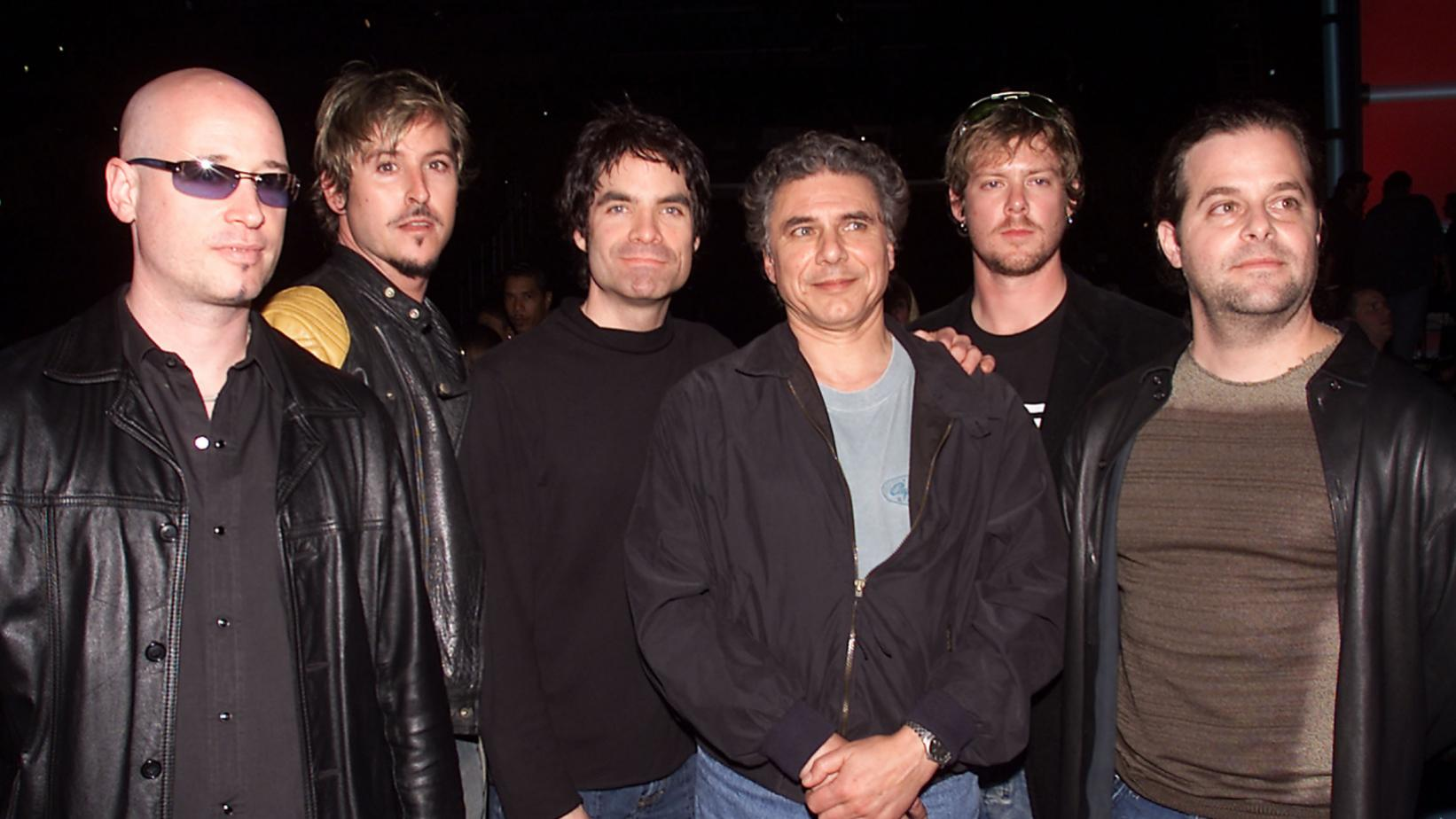 Paul Buckmaster with Train in 2002