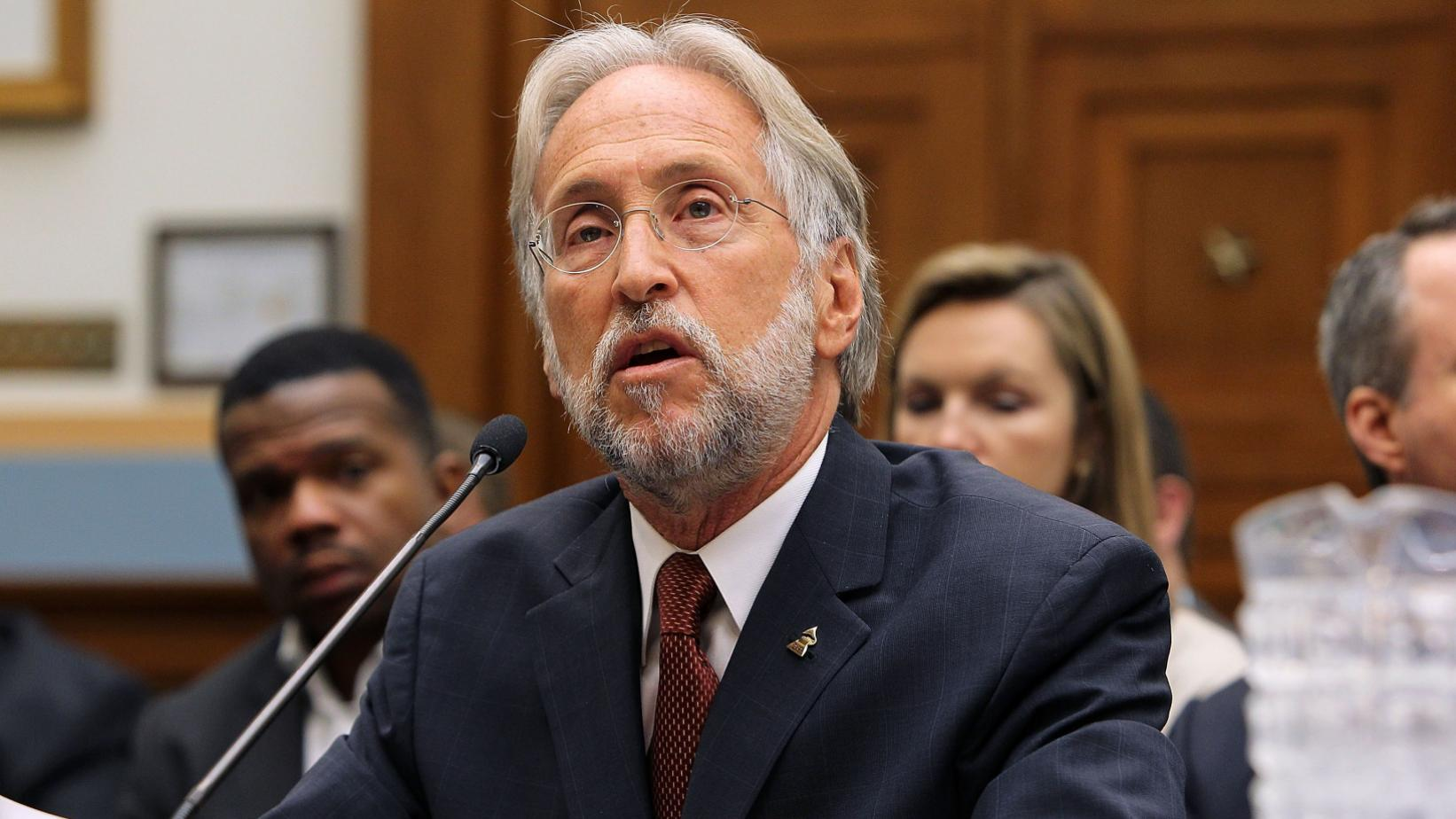 Neil Portnow photographed on Capitol Hill in 2014