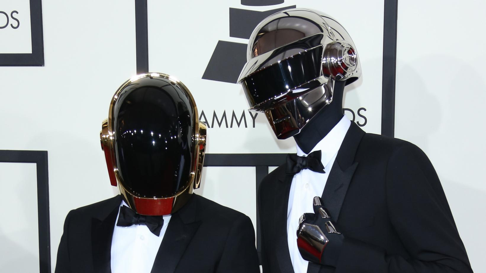 Daft Punk at the 56th GRAMMY Awards in 2014
