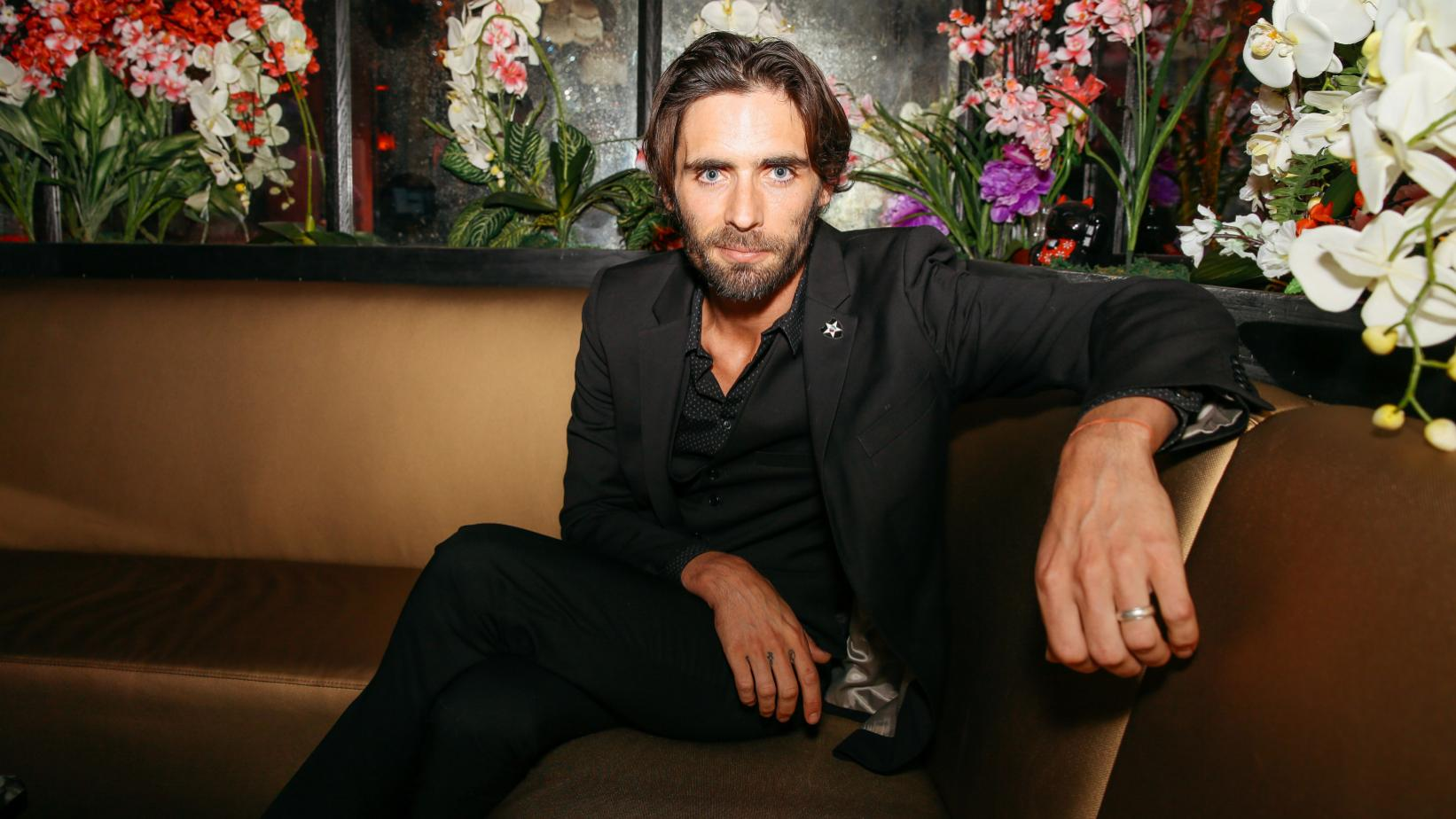 Tyson Ritter of All-American Rejects in 2016