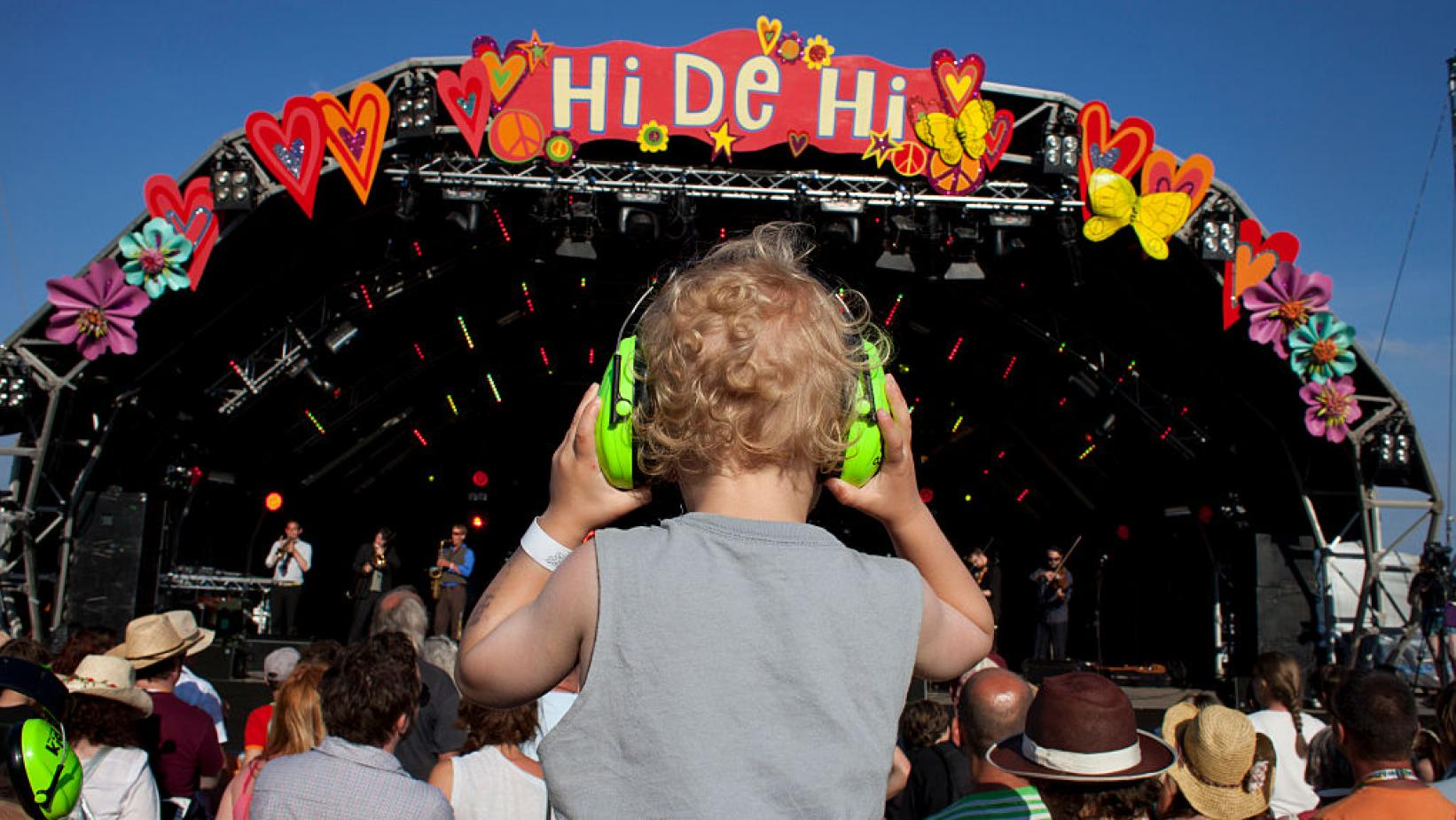 hearing protection at a festival