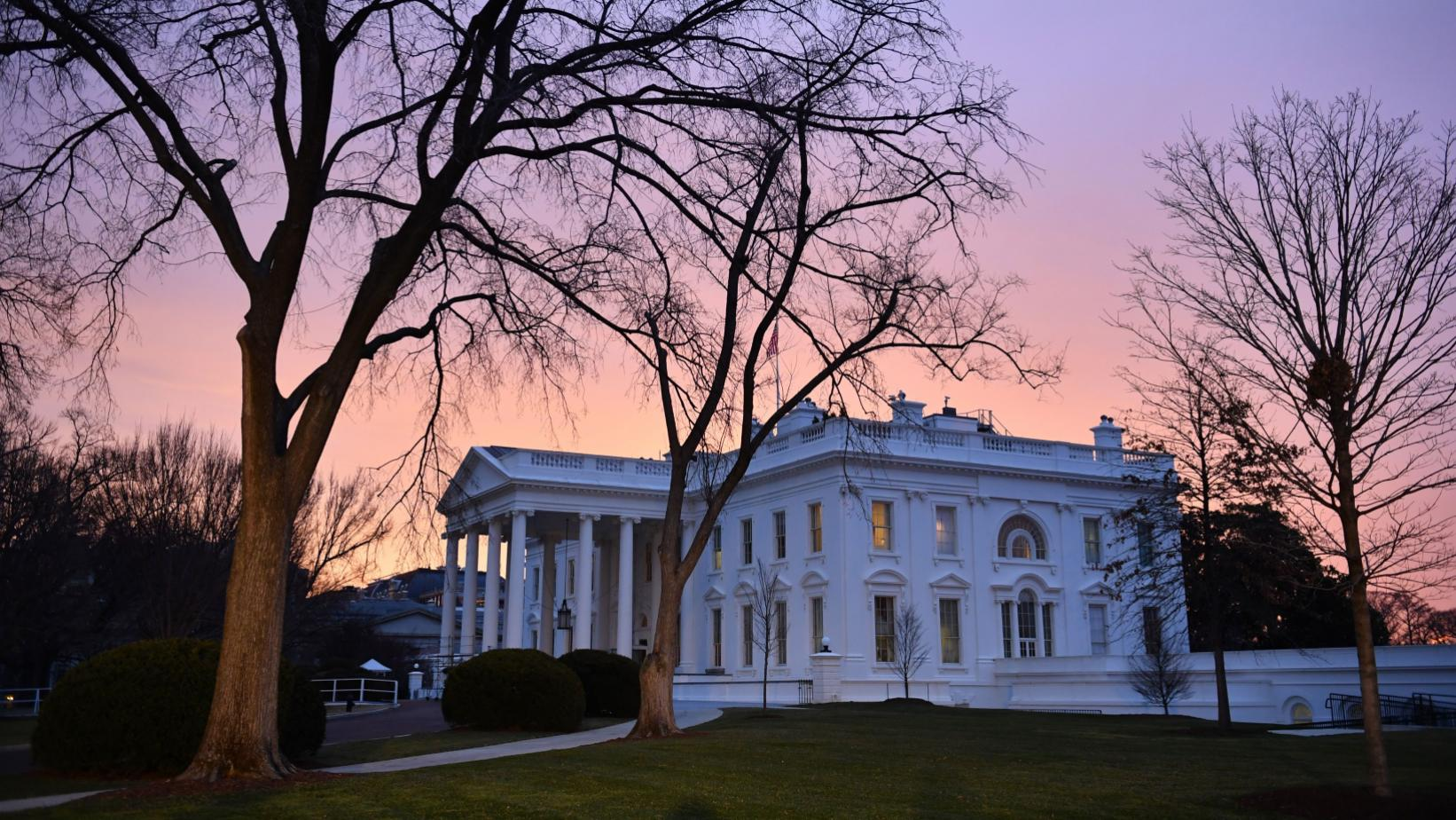 White House at dawn
