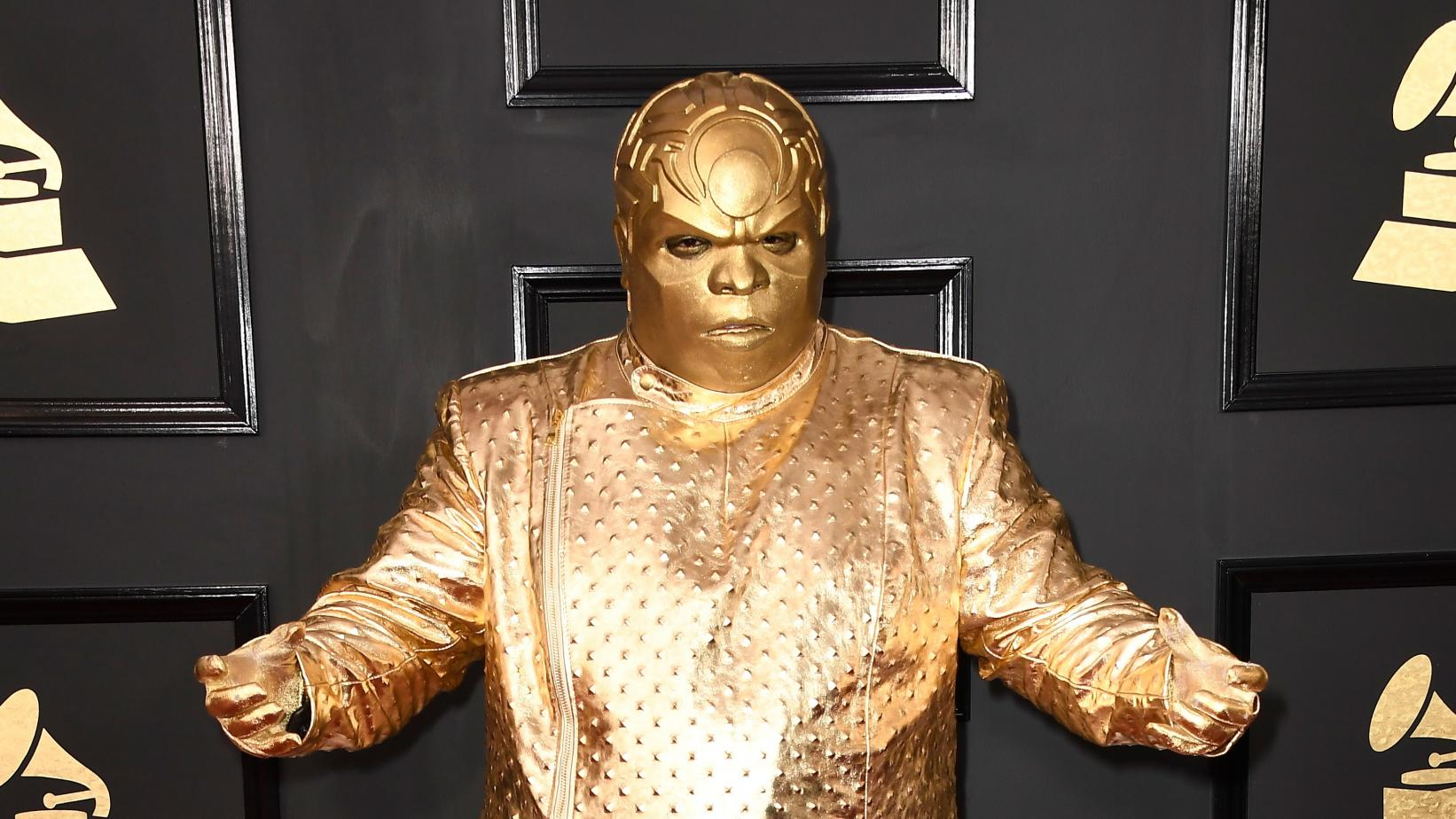 Cee Lo Green at the 59th GRAMMY Awards, 2017