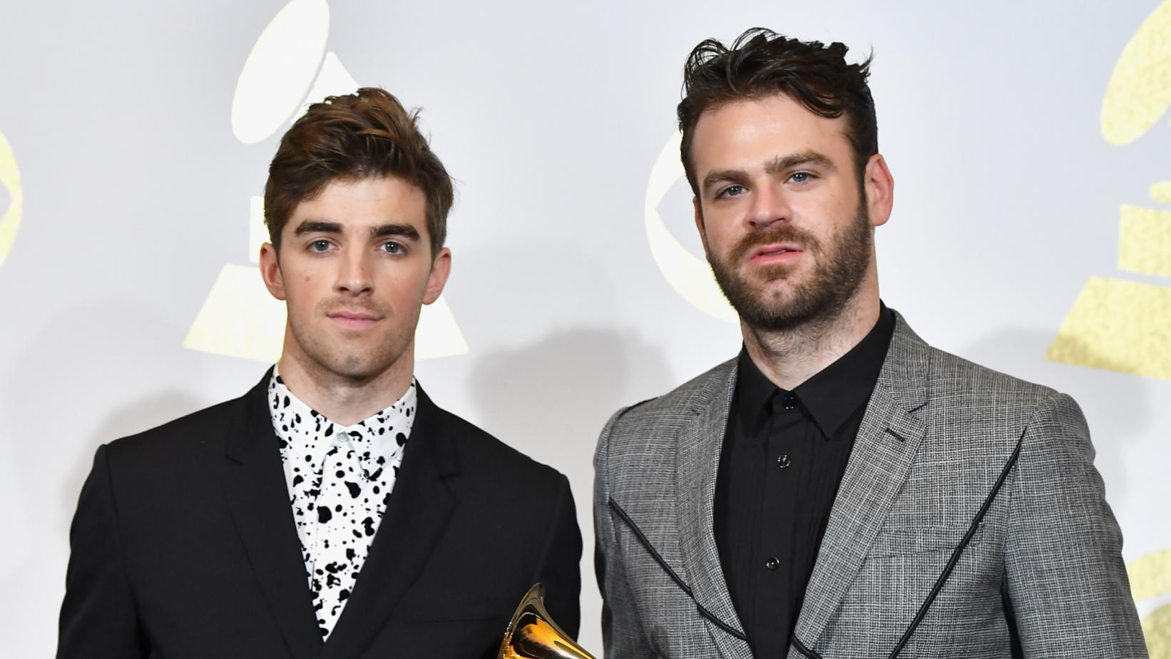The Chainsmokers at the 59th GRAMMY Awards in 2017