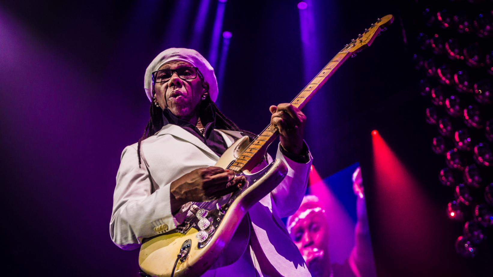 Nile Rodgers performs in 2016