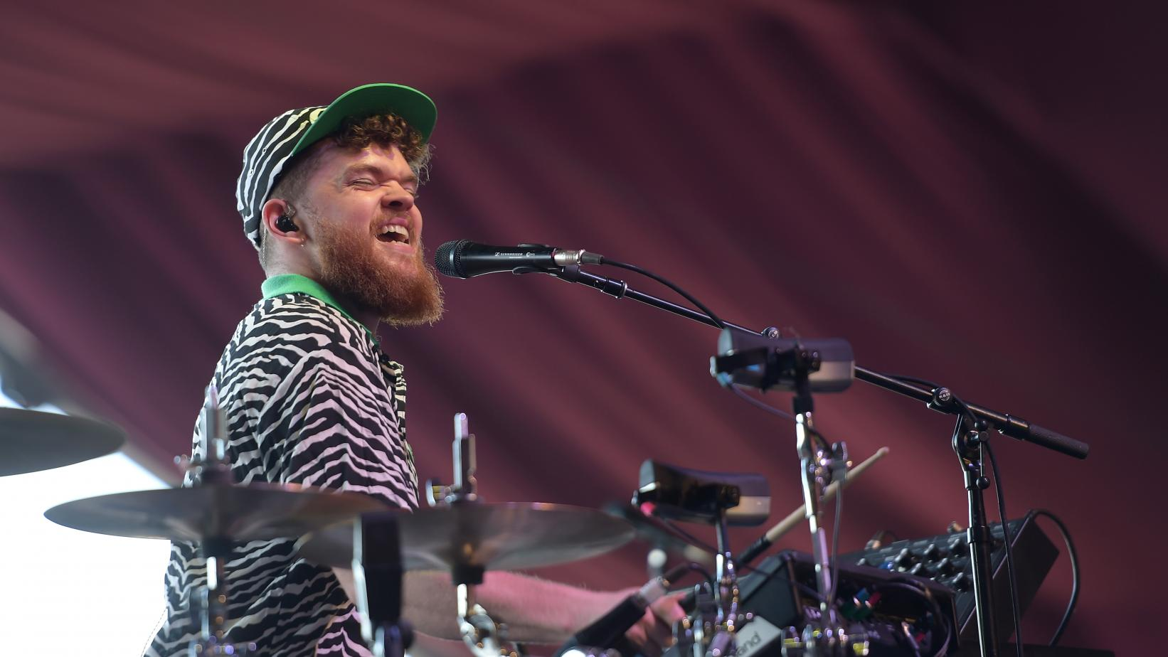 Jack Garratt performs at 2017 Coachella