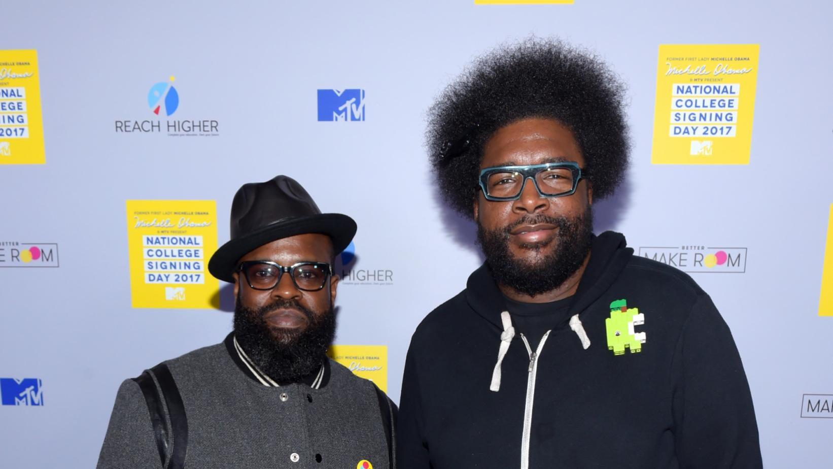 Questlove and Black Thought in 2017
