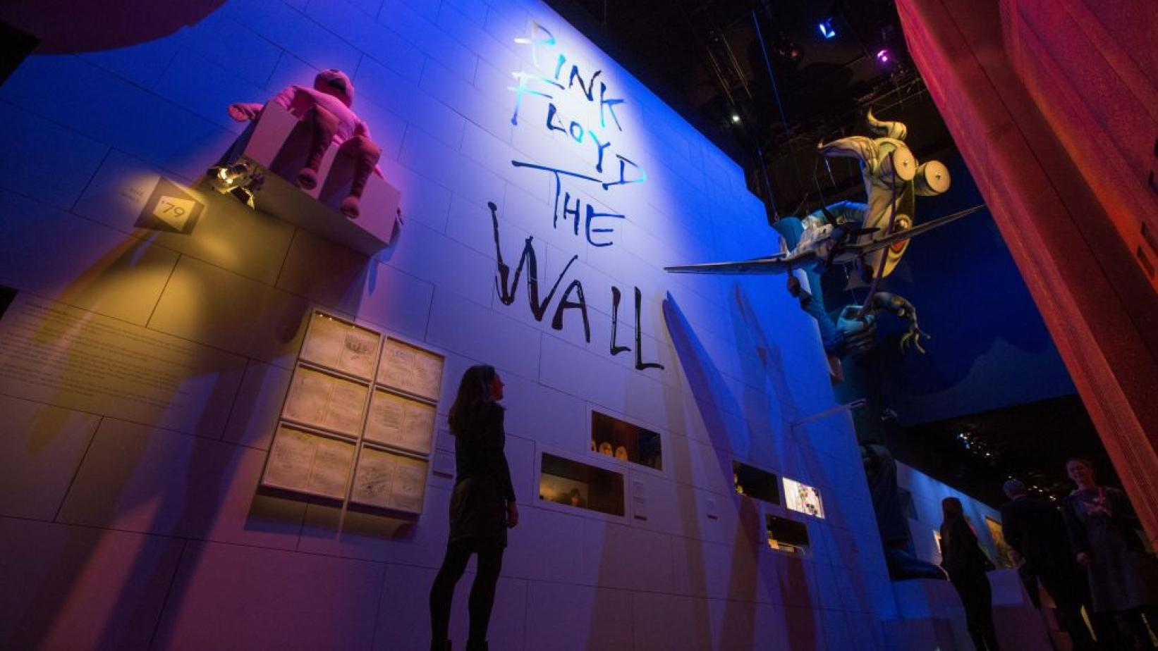 Pink Floyd's 'The Wall' exhibit