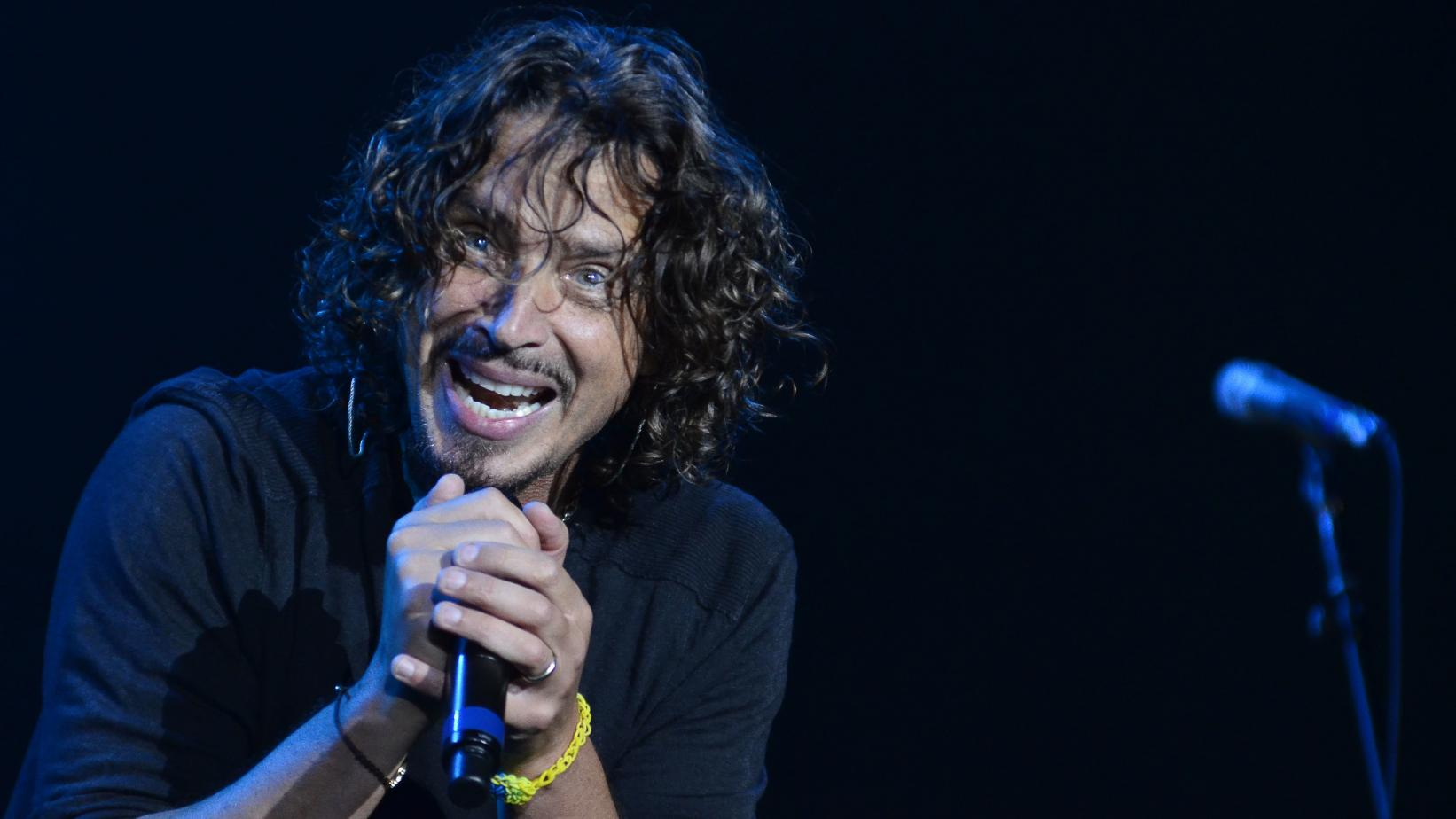 Chris Cornell performs with Soundgarden in 2014