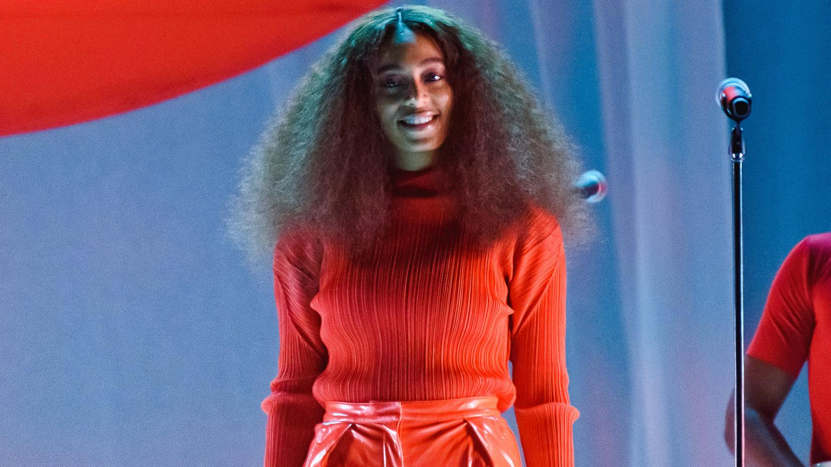 Solange at the 2017 Roskilde Festival