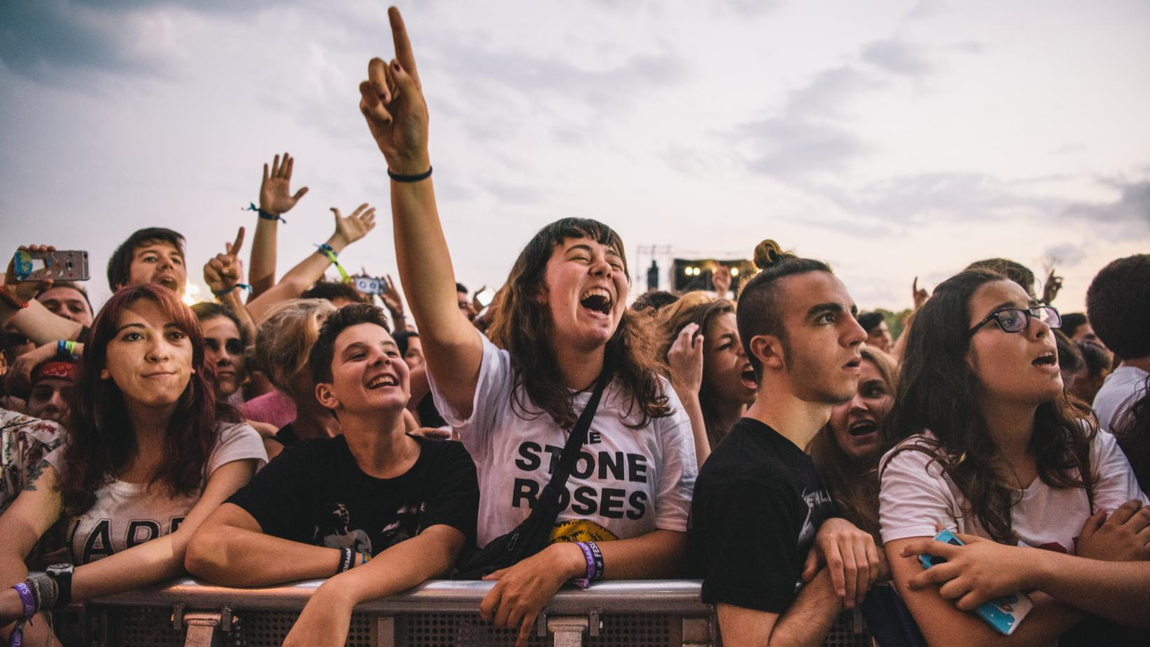 Fans at 2017 International Festival of Benicàssim
