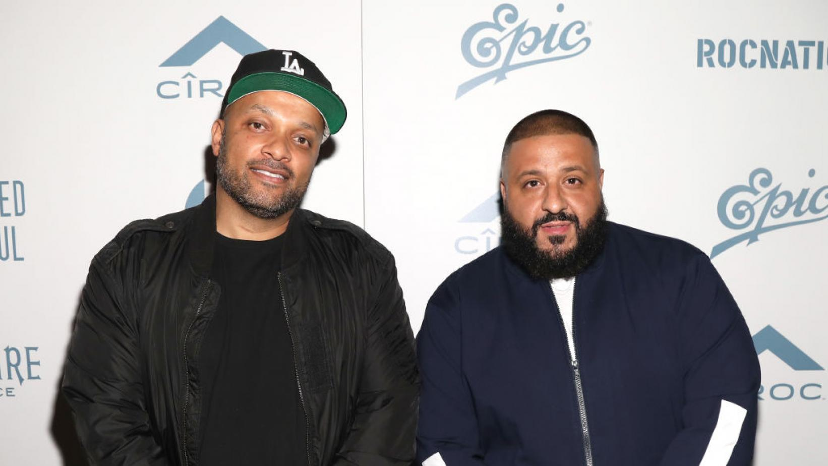 Roc Nation CEO Jay Brown and DJ Khaled