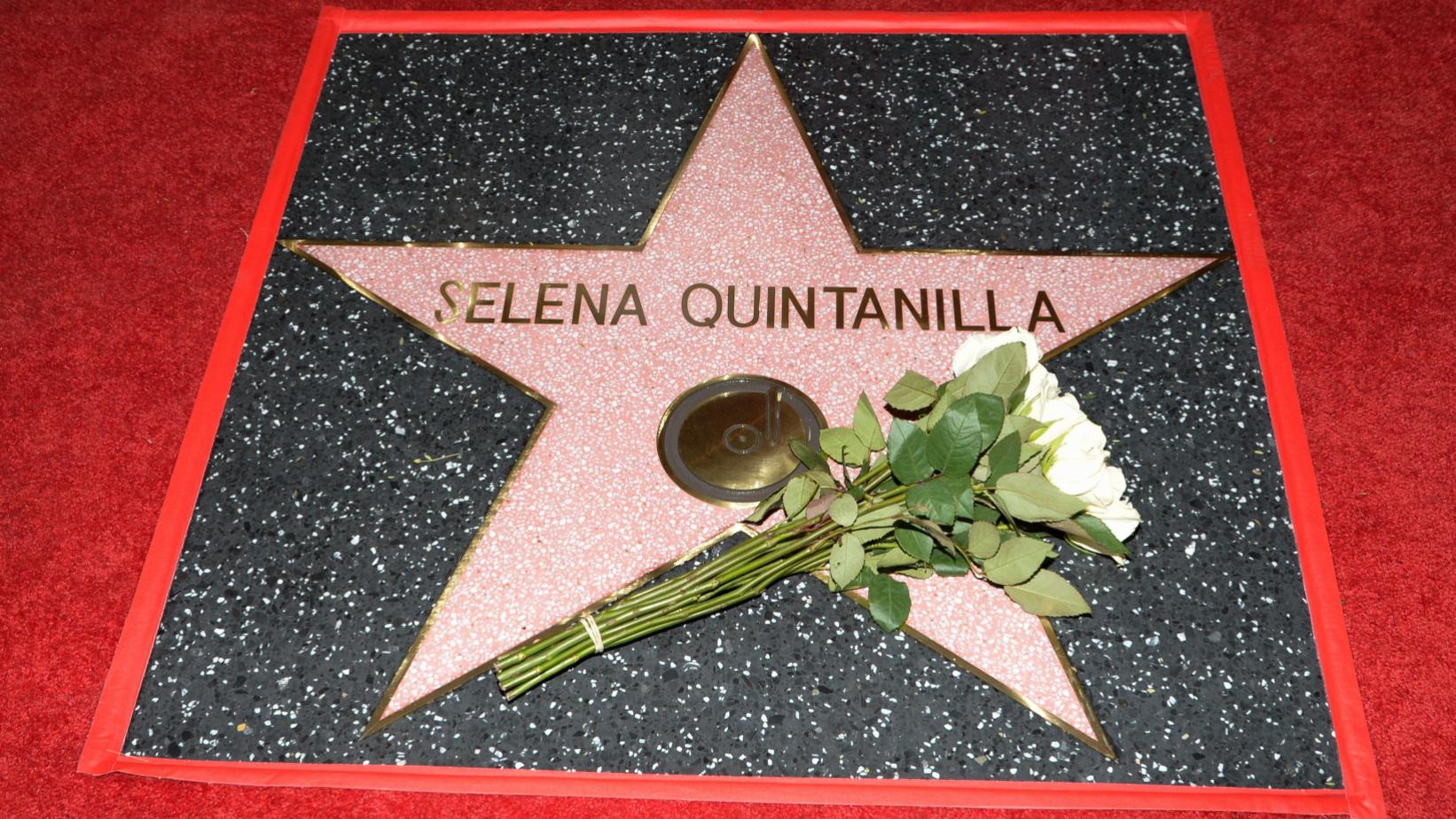Selena Quintanilla's Hollywood Walk Of Fame star
