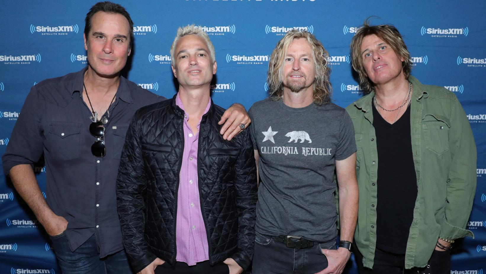 Stone Temple Pilots with lead singer Jeff Gutt in 2017
