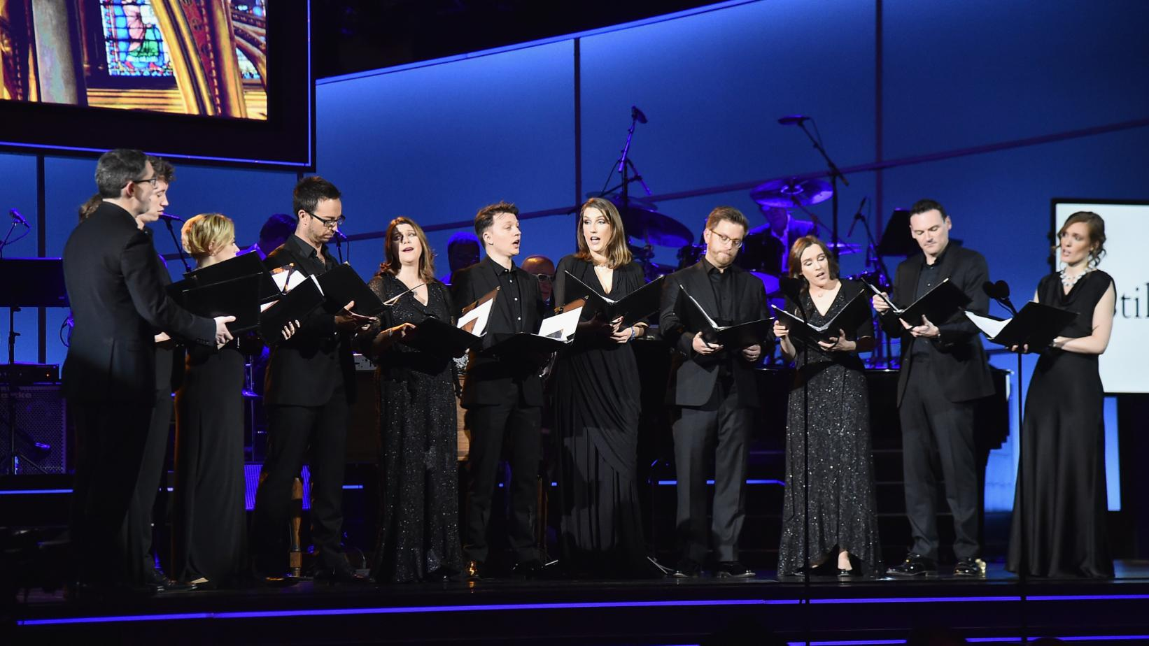 Stile Antico at the 60th GRAMMY Awards in 2018