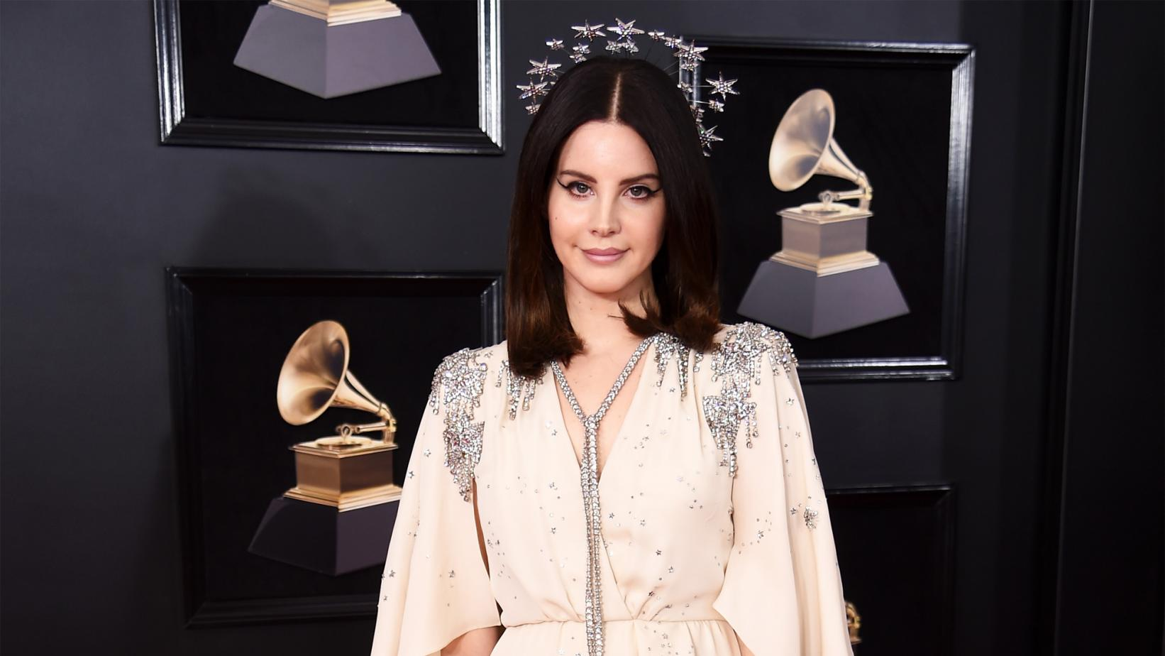 Lana Del Rey at the 60th GRAMMY Awards in 2018