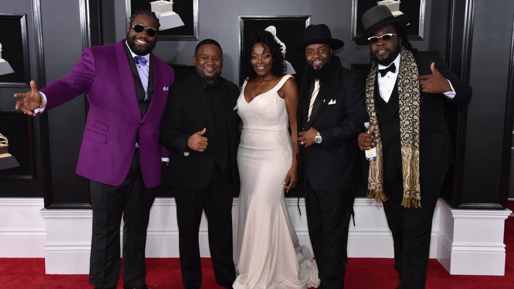 Morgan Heritage on the red carpet