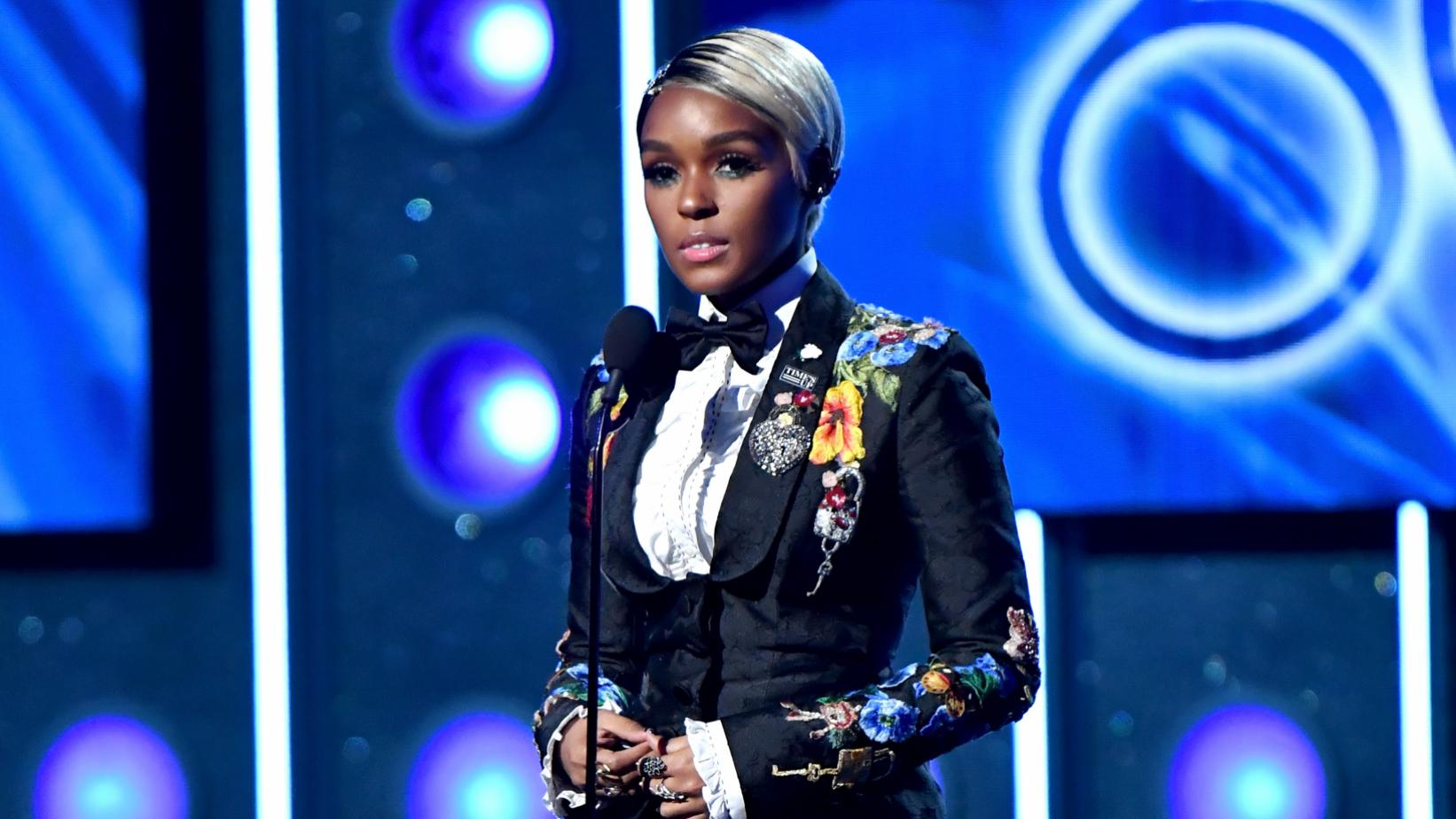 Janelle Monáe at the GRAMMYs