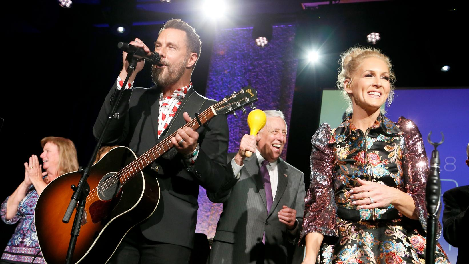 Little Big Town perform at the 2018 GRAMMYs on the Hill Awards