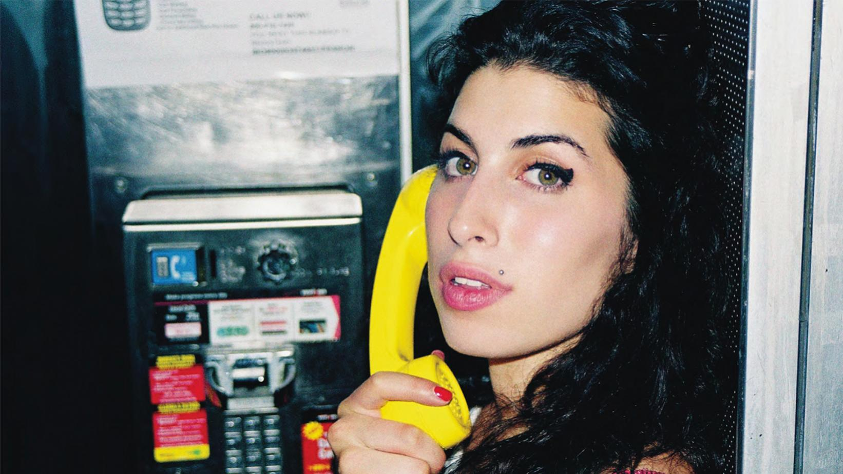 Photo of Amy Winehouse from photographer Charles Moriarty