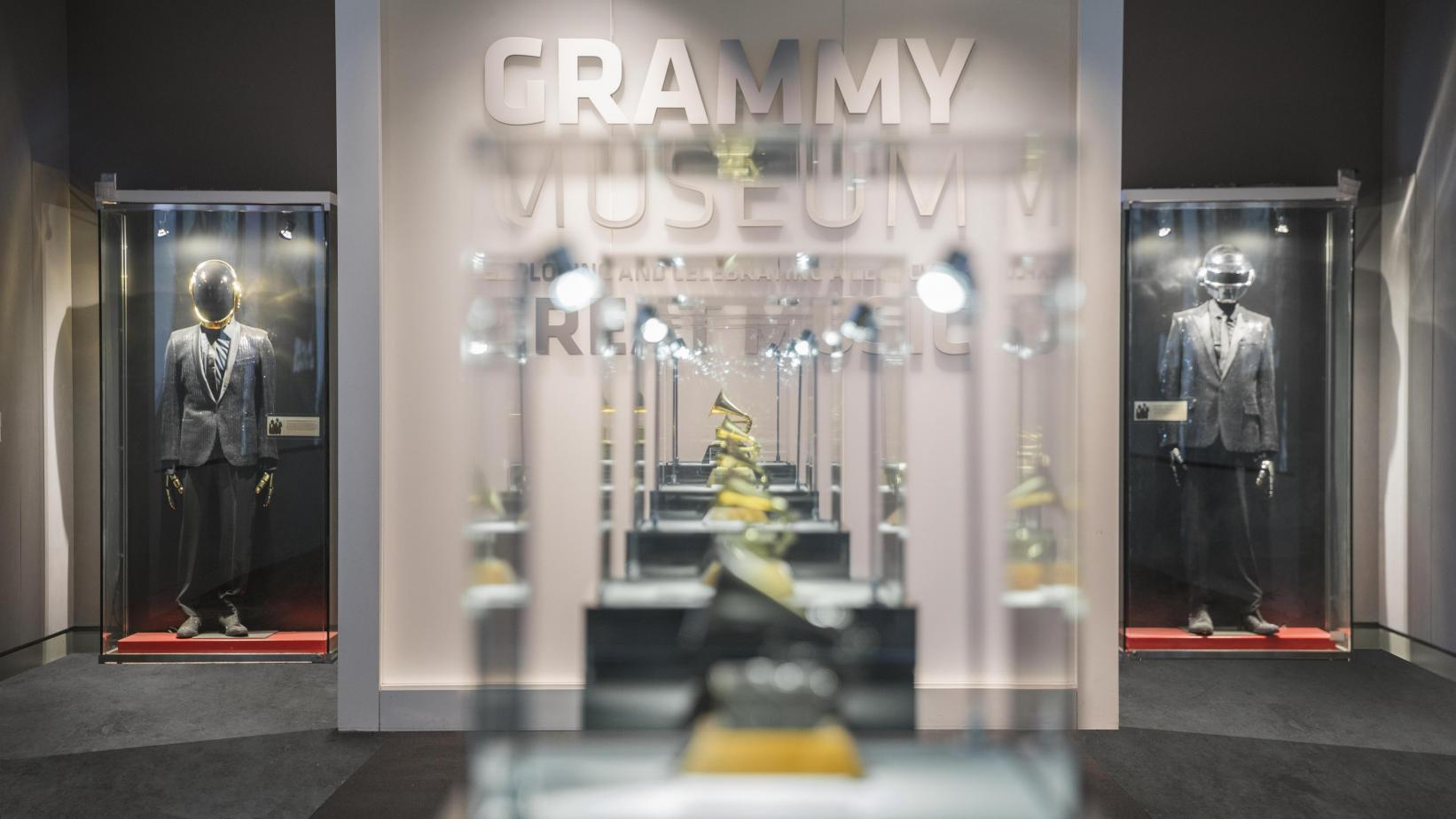 Inside the GRAMMY Museum in Downtown Los Angeles