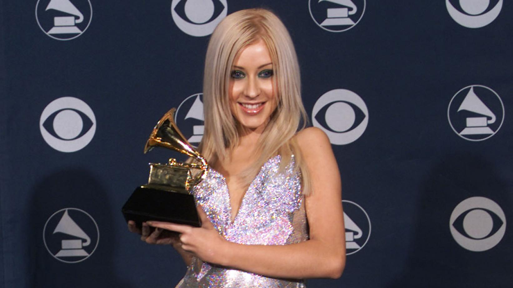 Christina Aguilera at 2000 GRAMMYs