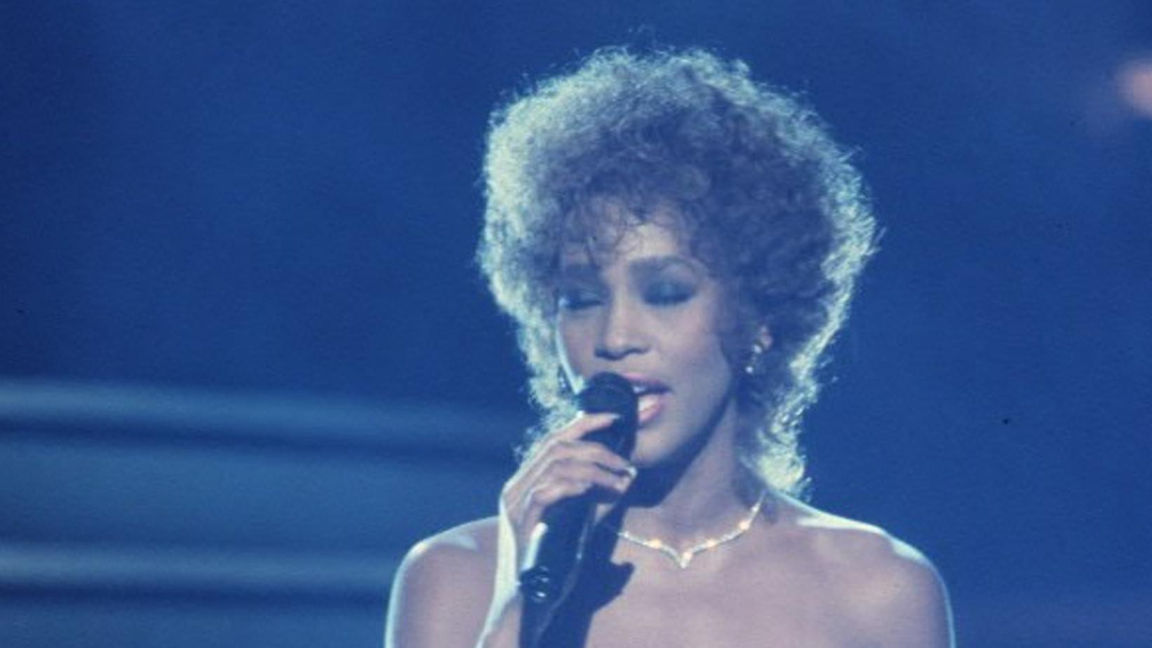 Whitney Houston at 1987 GRAMMYs