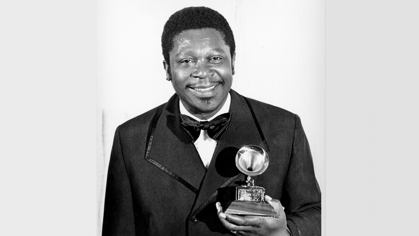 B.B. King at 1971 GRAMMYs