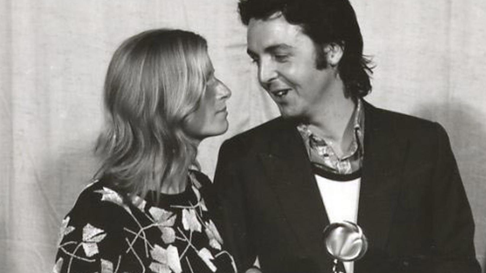 Paul and Linda McCartney attend the 1971 GRAMMYs