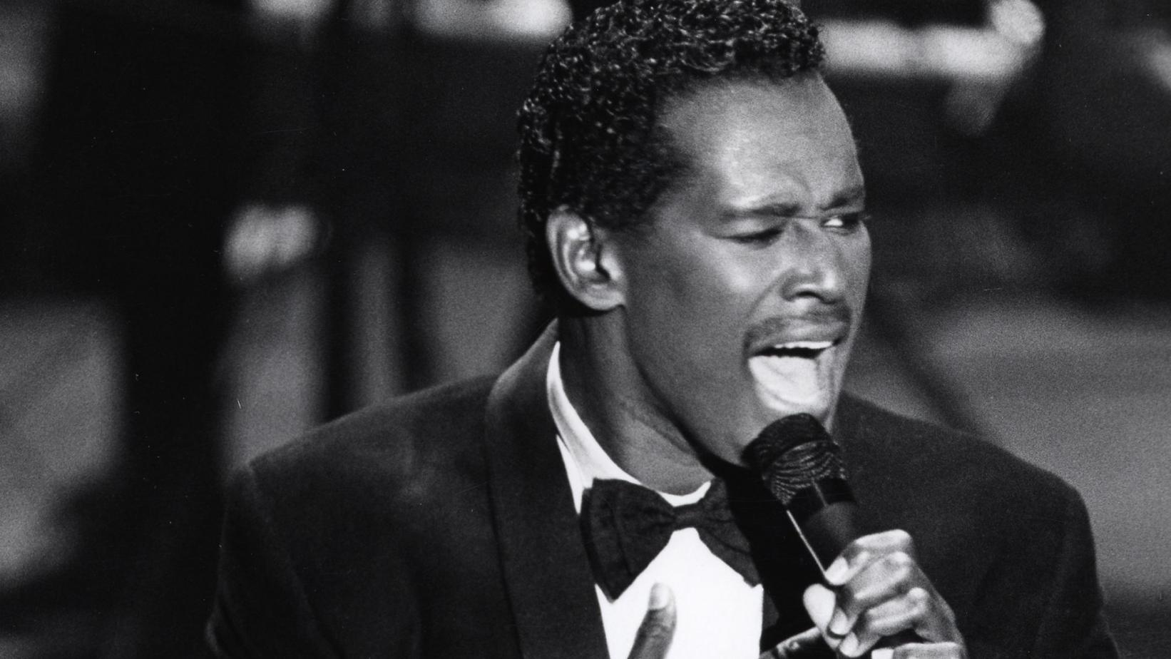 Luther Vandross at 1987 GRAMMYs