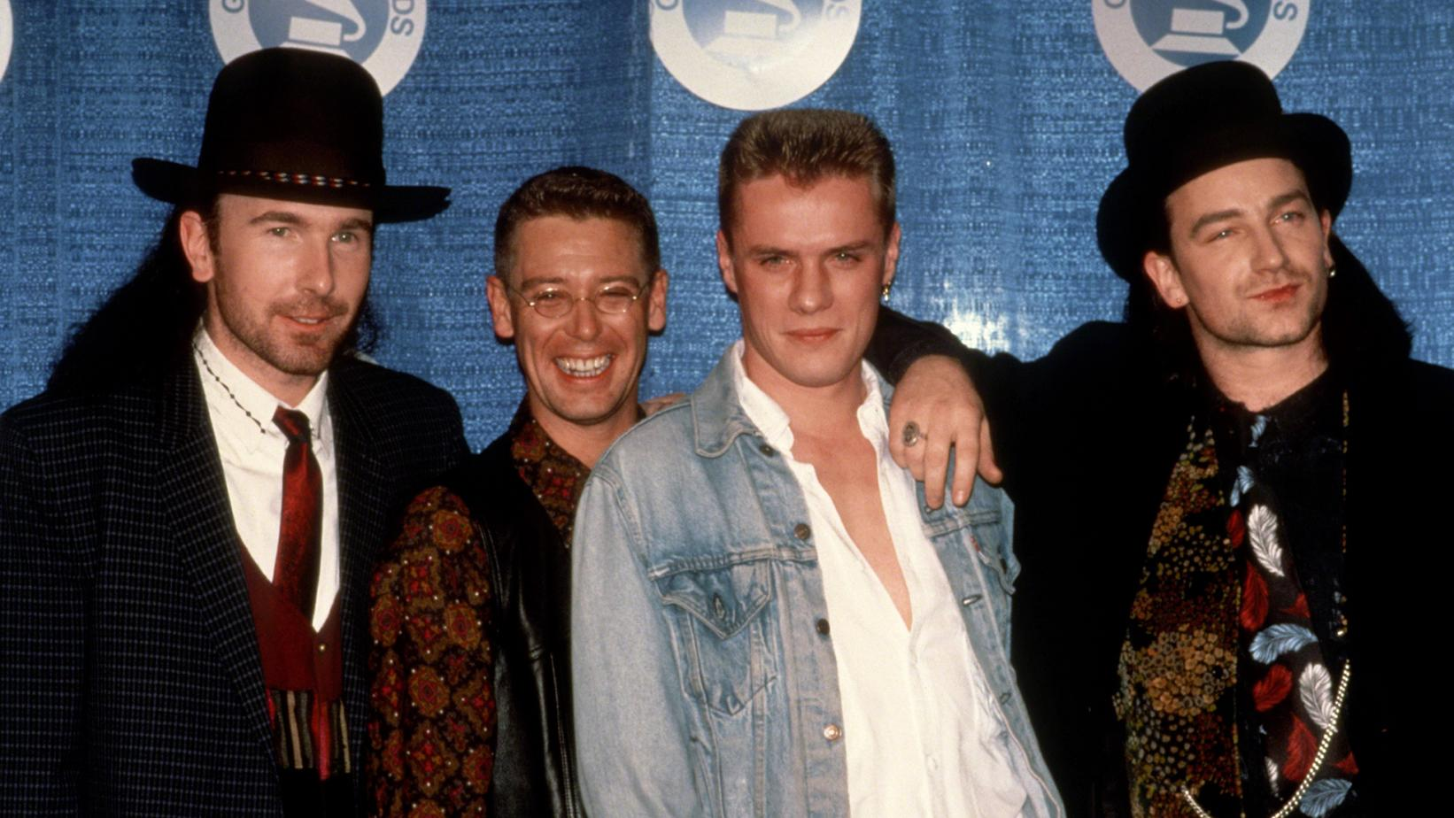 U2 at 1988 GRAMMYs