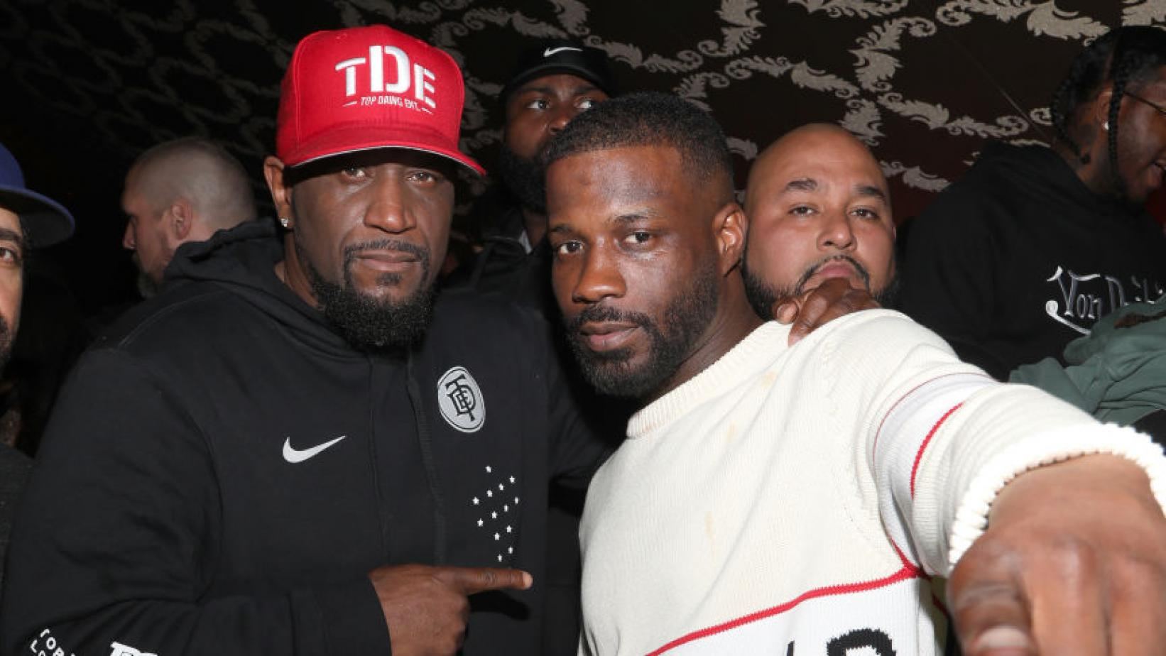 "Anthony ""Top Dawg"" Tiffith & Jay Rock"