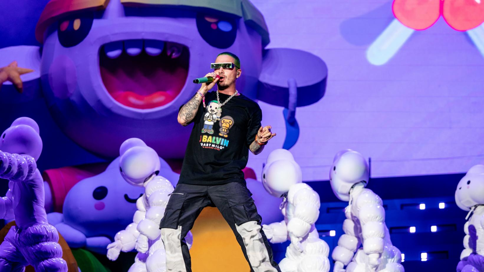 J Balvin at Lolla 2019