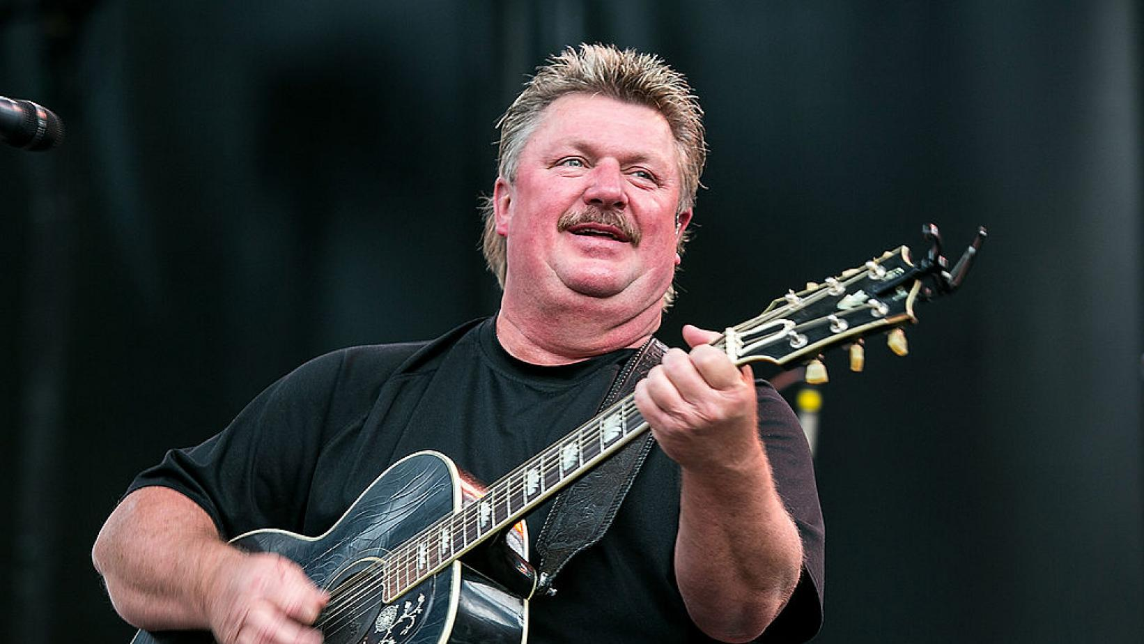 Joe Diffie performs at the Watershed Music Festival 2014
