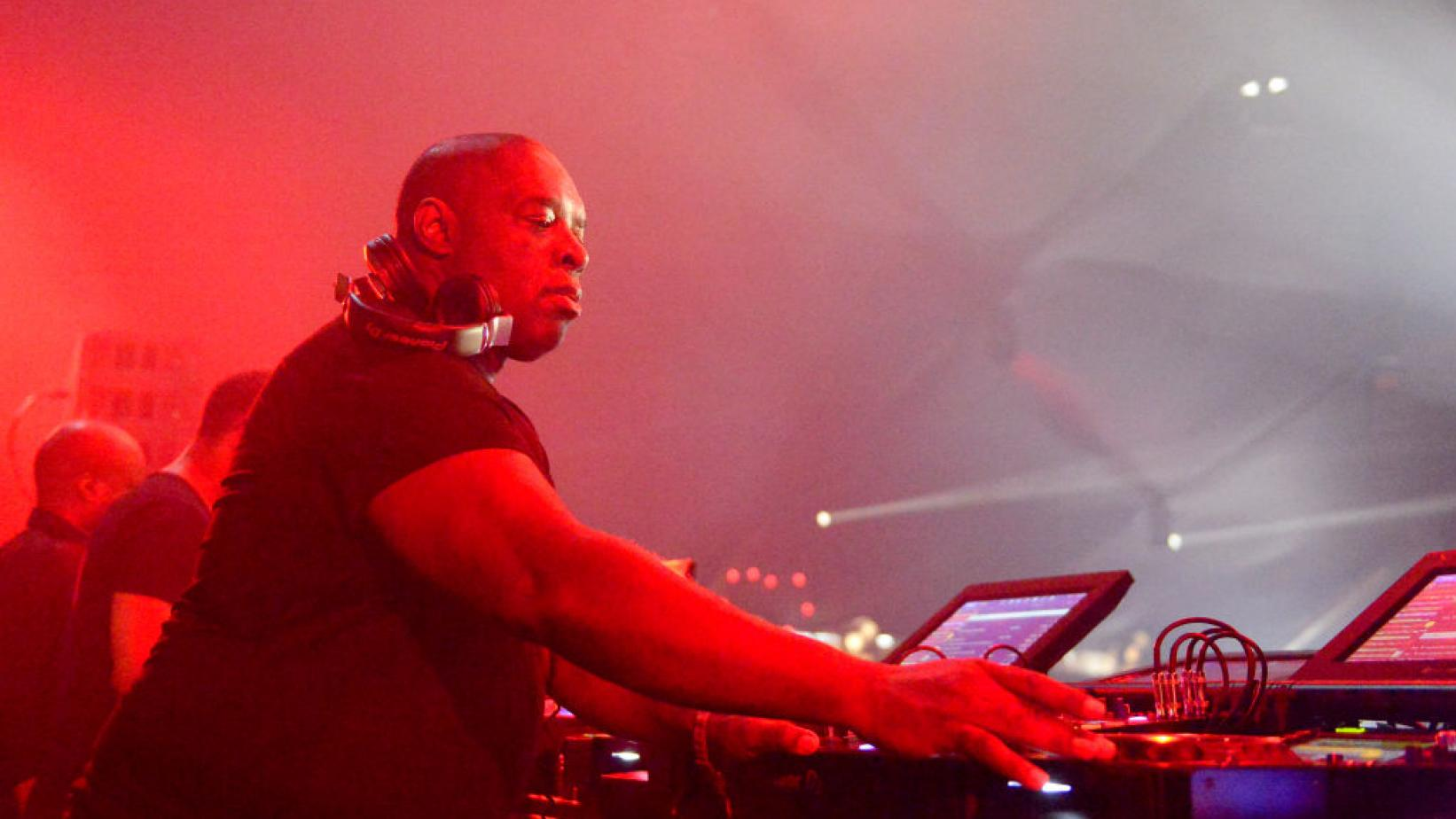 Kevin Saunderson at Coachella 2017