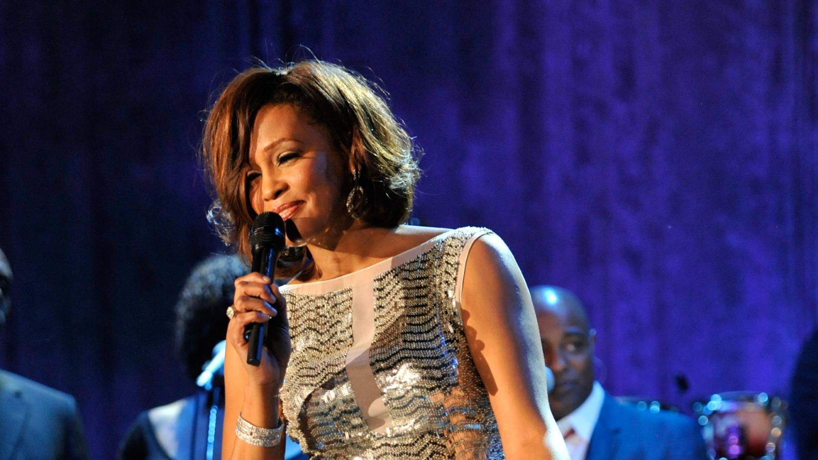 Whitney Houston at the Clive Davis and The Recording Academy's 2011 Pre-GRAMMY Gala