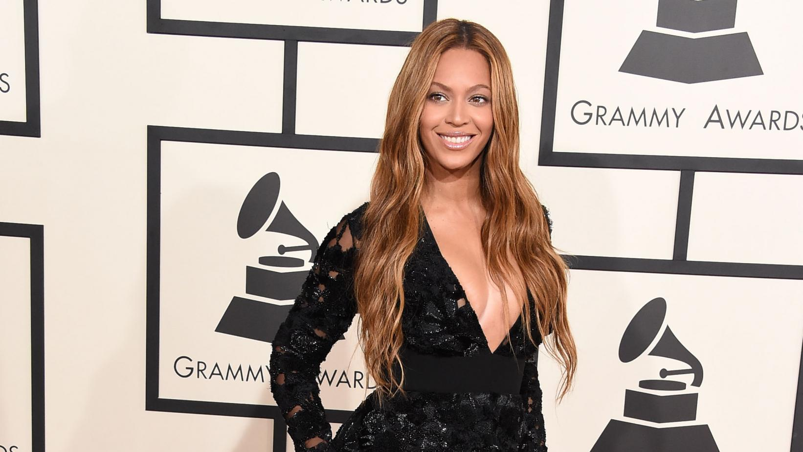 Beyoncé on the GRAMMY red carpet