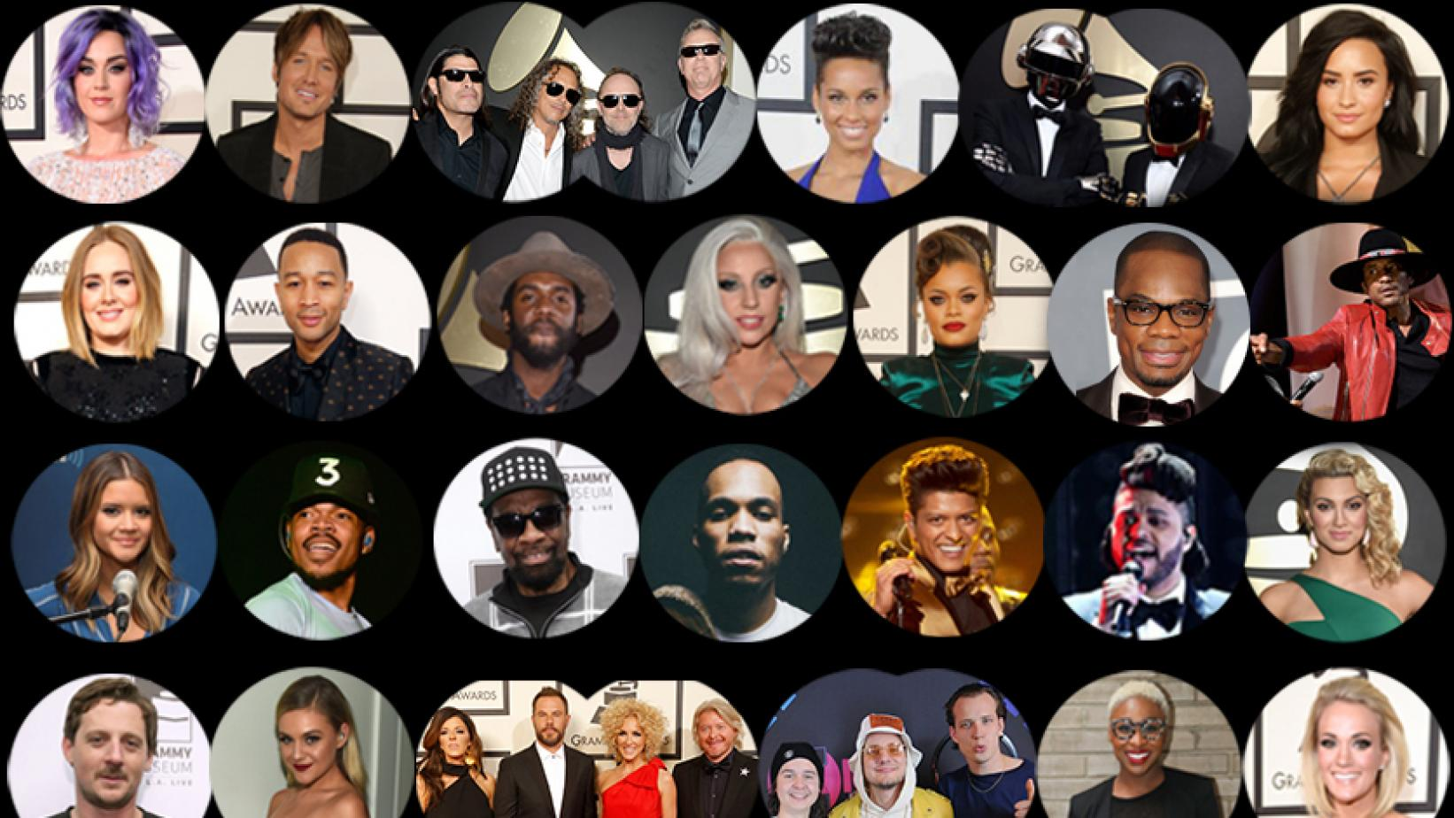 59th GRAMMY performers