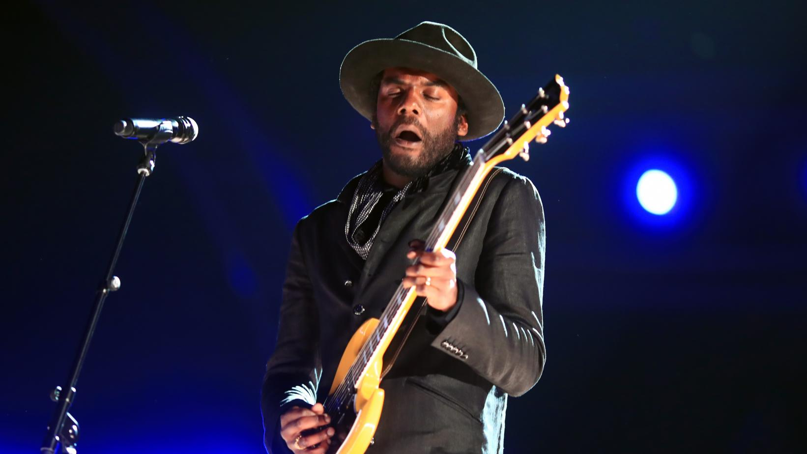 Gary Clark Jr. onstage at the 59th GRAMMYs in 2017