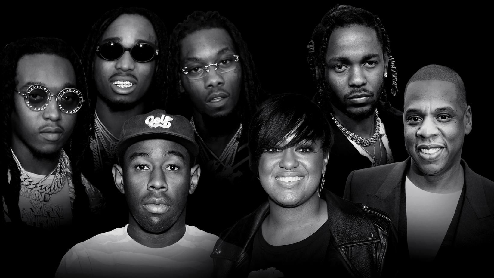 60th GRAMMY Best Rap Album Nominees