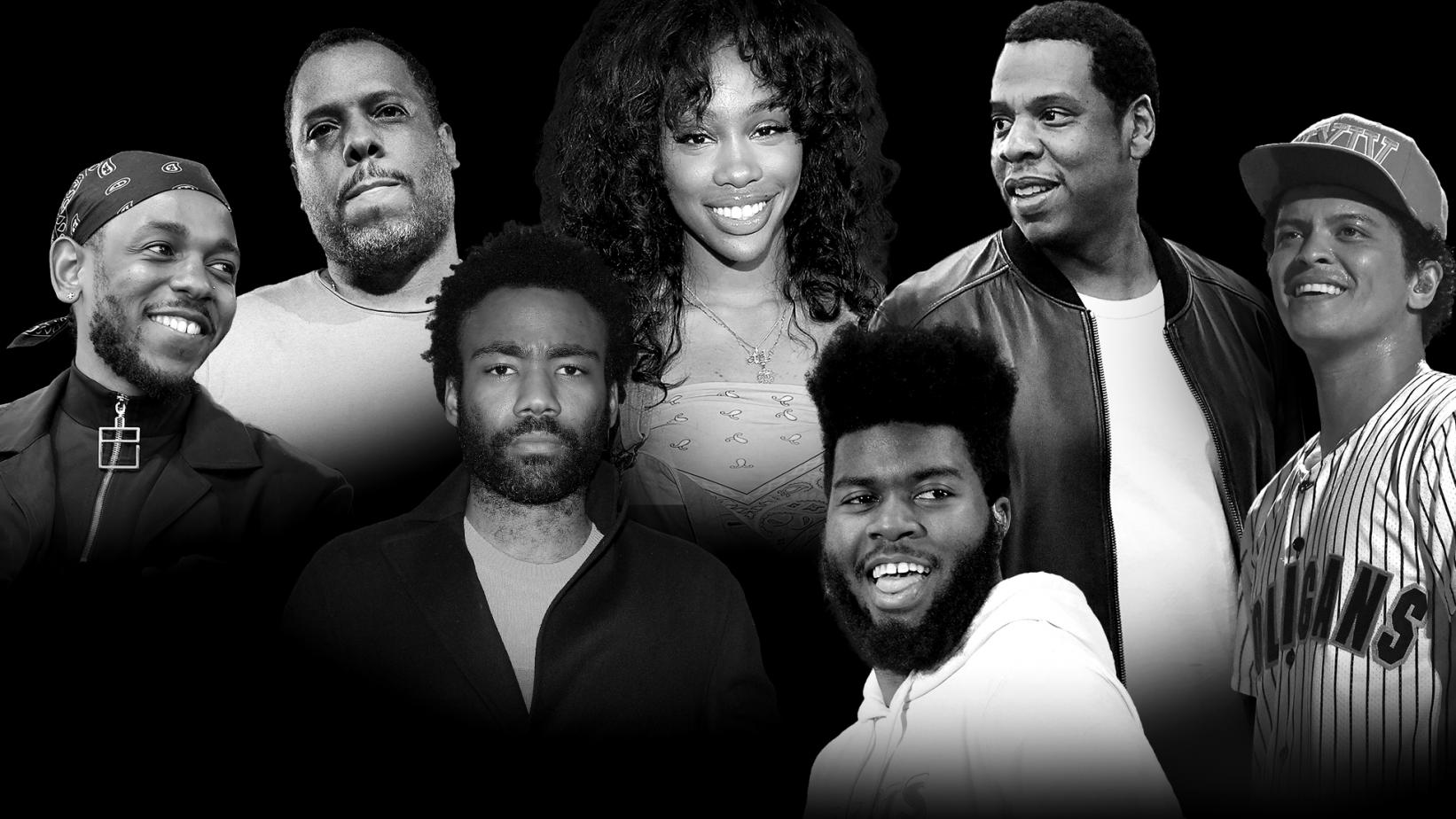 Top 60th GRAMMY Awards nominees