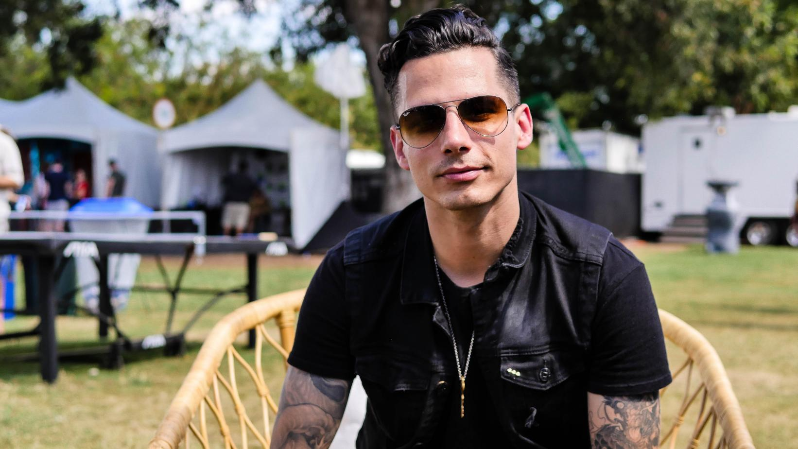 Devin Dawson photographed at the 2017 ACL Music Festival