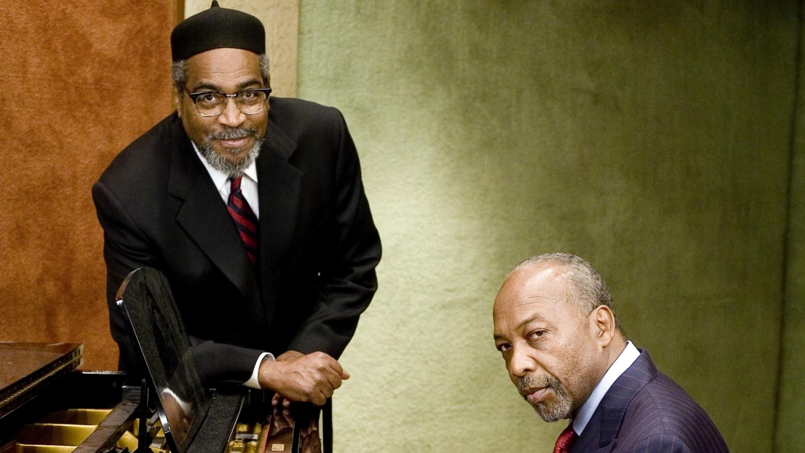 Kenny Gamble and Leon Huff at the piano