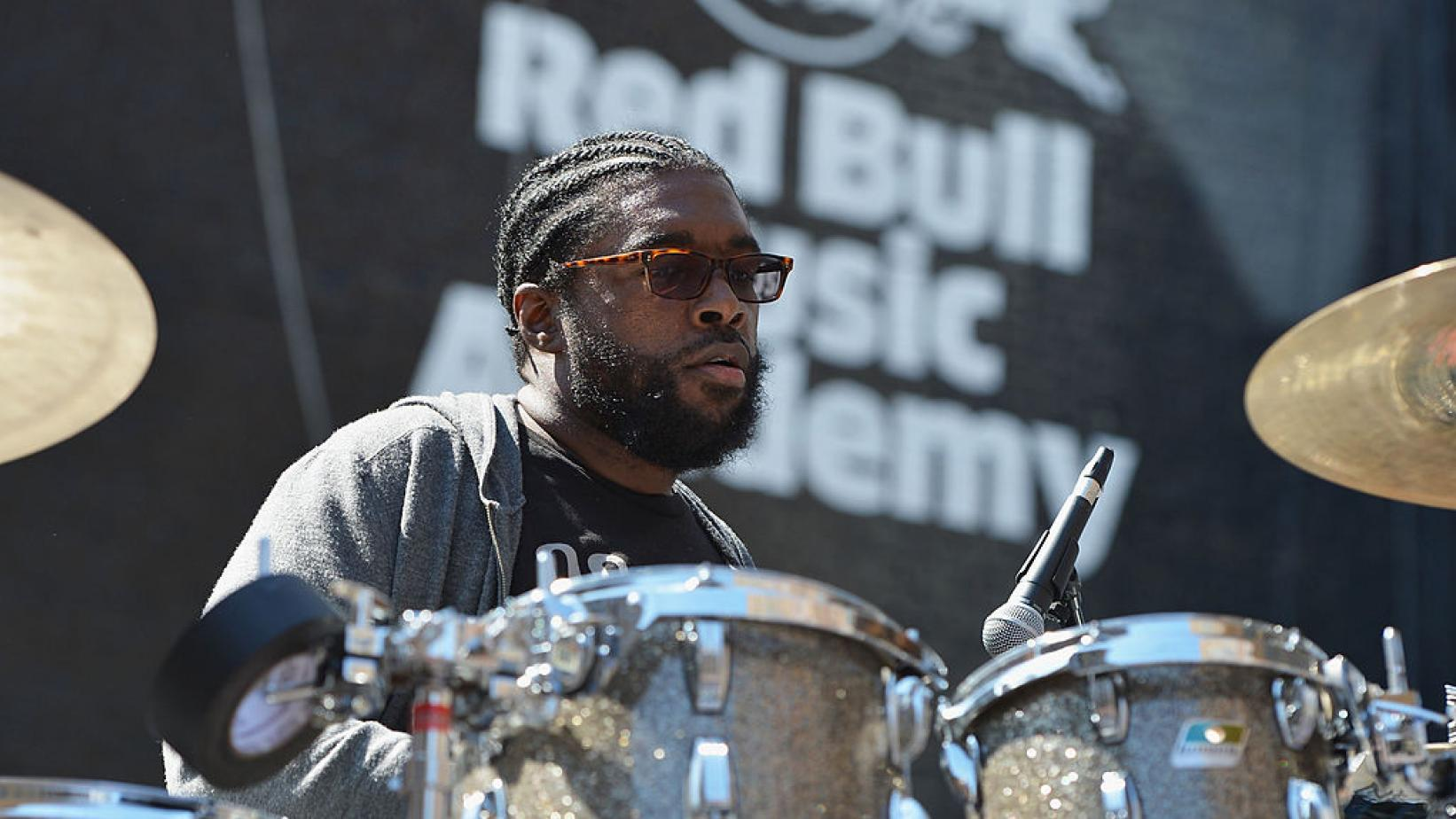 Questlove at Red Bull Music Academy event in 2013