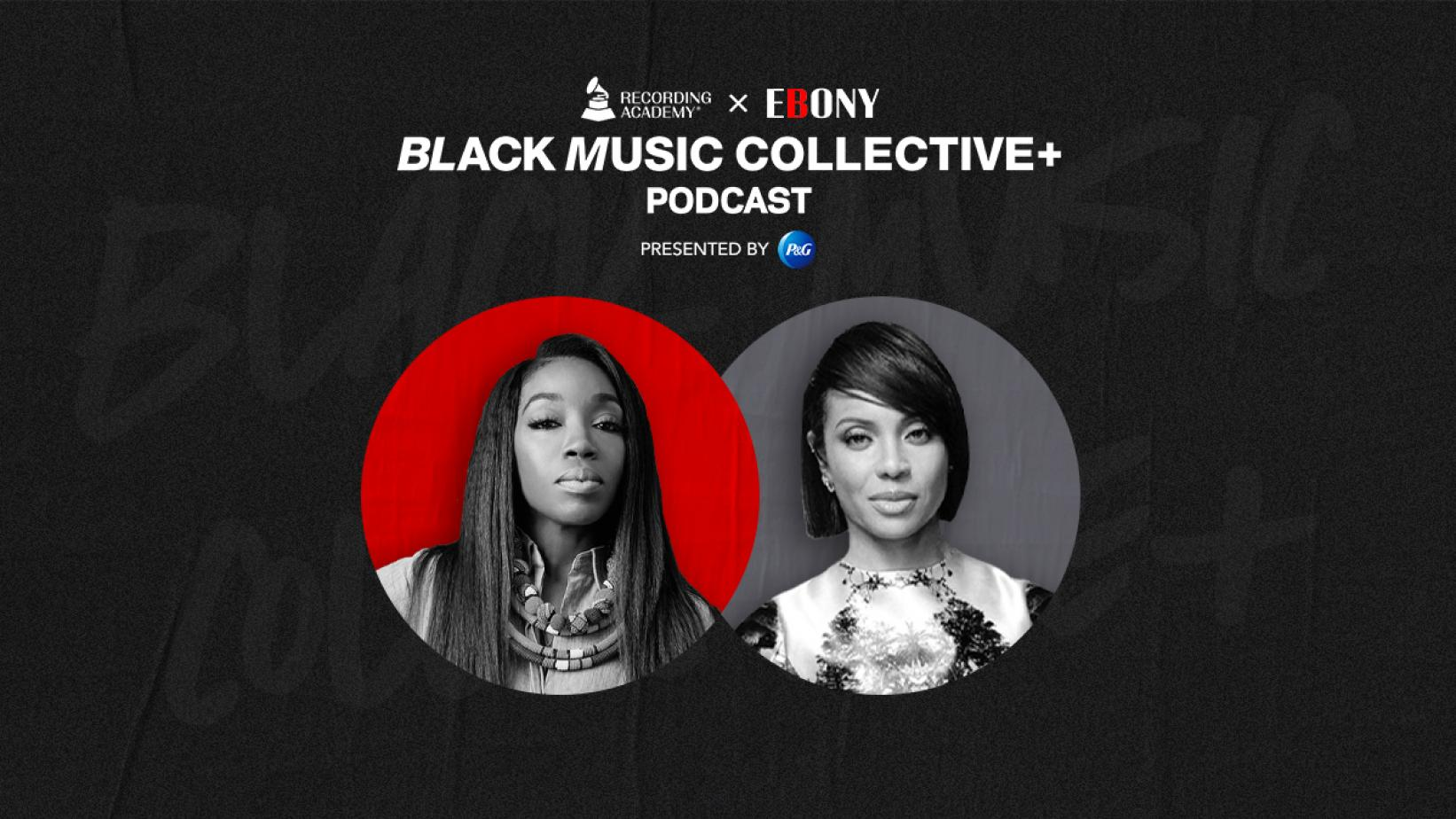 Artwork for Recording Academy x EBONY: Black Music Collective Podcast episode with Estelle