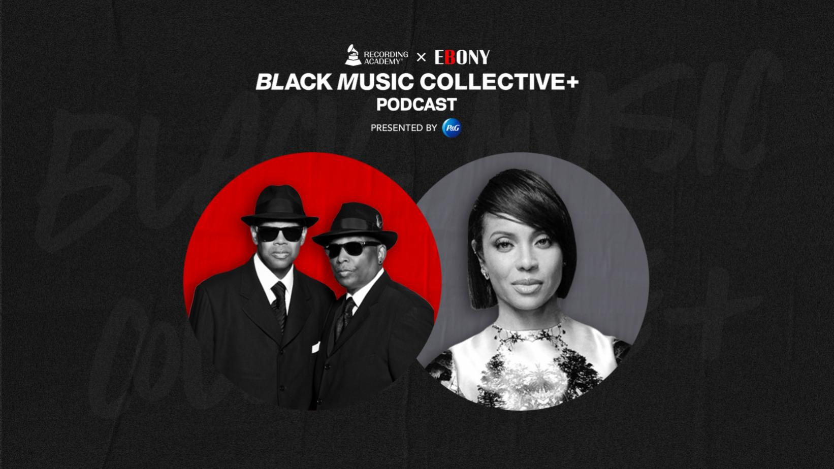 Artwork for Recording Academy x EBONY: Black Music Collective Podcast episode with Jimmy Jam & Terry Lewis