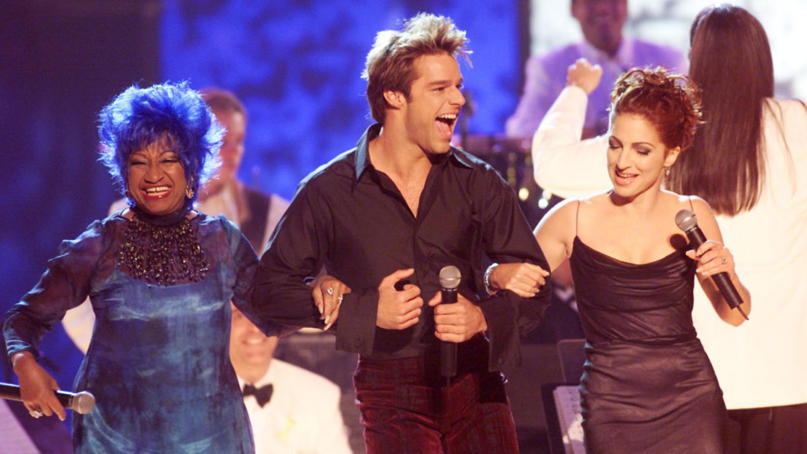 Celia Cruz, Ricky Martin & Gloria Estefan at the 2000 Latin GRAMMYs