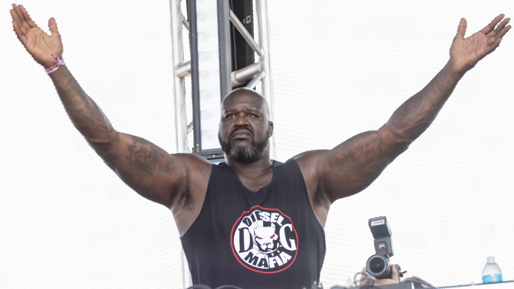 Shaq at Lolla 2019